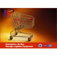 Buy cheap European Style Retail Zinc Metal For Trolleys Supermarket Shopping Carts , from wholesalers