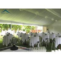 Wholesale European  Style Aluminium Frame Party Tents With Roof Linings And Curtains from china suppliers