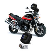 Buy cheap Motorcycle TPMS Sensor Tire pressure monitor with 2 external tire sensors from wholesalers