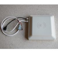 Wholesale White Long Distance RFID Integrated Reader , Access Control Rfid Gate Reader from china suppliers