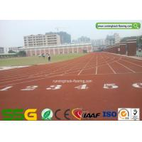 Wholesale Weather Resistant Synthetic Running Track Flooring for School / Rubber Gym Floor from china suppliers