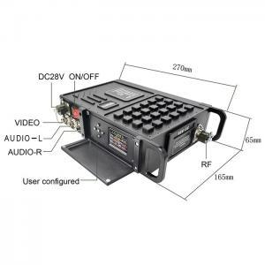 Buy cheap 100km long range cofdm wireless video transmitter from wholesalers