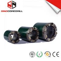 Quality PCD NQ HQ PQ Polycrystalline Compact Diamond Core Bit , DCDMA Standard for sale