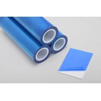 China Scratch Proof 100m 1200mm Plastic Sheet Protective Film For PVC Roofing Sheet on sale