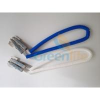 Wholesale Dental Clip Expander Slim Plastic Spiral Rope Napkin Holder in Blue/White Colour from china suppliers
