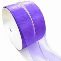 Wholesale Gift Nylon Ribbon, Suitable for Garment and Gift Packing, Various Colors are Available from china suppliers