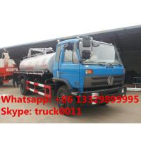 Wholesale hot sale best price dongfeng 153 10 cubic meters fecal suction truck, dongfeng 4*2 190hp diesel vacuum truck for sale from china suppliers
