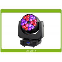Quality LED Moving Head Beam Zoom, 18x15W, RGBW 4-in-1 Affordable Lighting Equipment for sale