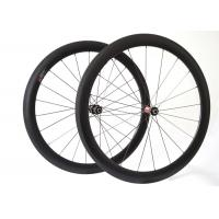 Wholesale Inner / External Nipple Carbon Fiber Bicycle Wheels , Lightweight Road Bike Wheels from china suppliers