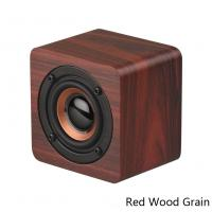 China Wooden Mini Wireless Bluetooth Speaker Portable Gift Innovative Small Notebook Speaker Socket Mini Speaker Bass Sound on sale