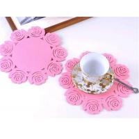 Wholesale Felt Coasters/Table Mats and Coasters /Dinner Table Runner Placemats Coasters 3 from china suppliers