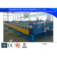 Wholesale Galvanized Steel Floor Metal Deck Roll Forming Machine With 19 Forming Stations from china suppliers