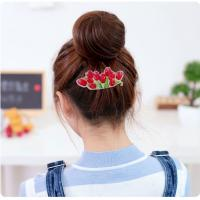 Wholesale 3D Effect Baby Girls Hair Clips For Fine Hair / Long Hair / Thick Hair from china suppliers