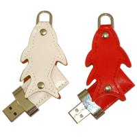 Wholesale wholesale leather USB thumb drives 128MB - 32GB with embossed or printing logo from china suppliers