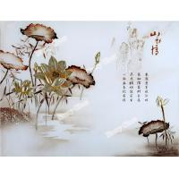 Wholesale Painting Engraved Glass for hospitality decoration from china suppliers