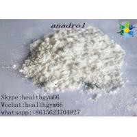 Buy cheap CAS 434-07-1 White Crystalline Muscle Building Steroids , Oral Anabolic Steroids Oxymetholone from wholesalers