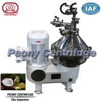 Wholesale Automatic Continuous Disc Stack 3Phase Coconut Oil Separator Centrifuge from china suppliers