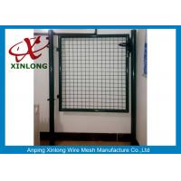 Wholesale Circular / Square Shape Welded Wire Gate Panels With 1.5mm Thickness Post from china suppliers