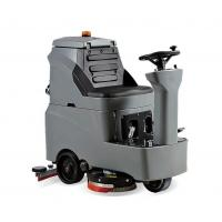 Buy cheap Supermarket ride on electric commercial robot floor scrubber cleaning machine from wholesalers