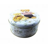 Wholesale Round Christmas Cookie Tin Box Cookie Tin Box Round Metal Tin Can from china suppliers