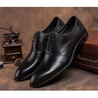 Wholesale Pointed Plain Toe Mens Classic Dress Shoes For Four Seasons EU 37-44 Size Range from china suppliers