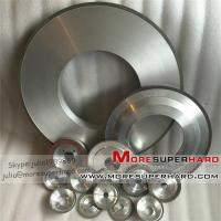 Quality Resin Diamond grinding wheel for thermal spray coating industry-julia@moresuperhard.com for sale