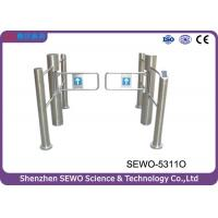 Wholesale Supermarkt Stainless Steel  Automatic  Swing Gate Turnstile with IC Card from china suppliers