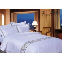 Wholesale Various Sizes Hotel Bed Linen Sheets Classical Embroidery Pattern from china suppliers