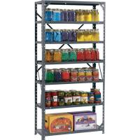 Wholesale 7 Shelf Storage Shelving Racks Steel Canning Shelving Unit For Supermrrket from china suppliers