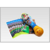 Custom Printable Drink Bottle Labels Perfect Tightness Food Wrap Film PETG PET Shrink Films for sale