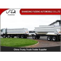 Wholesale Farming Draw Bar Trailer With Turntable 20 - 50 Tons Loading Capacity from china suppliers
