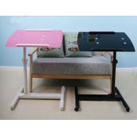 Wholesale Portable Swivel Adjustable Bedside Laptop Table 7mm Tempered Glass DX-BJ26 from china suppliers