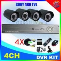 Wholesale 4CH DVR KIT cctv camera kit CEE-DVR-7104 C938A from china suppliers