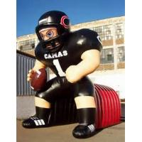 Wholesale Inflatable Tunnel With NFL Player Model For Event Promotion And Advertising from china suppliers