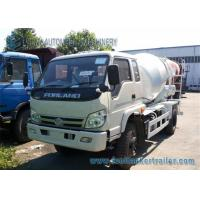 Wholesale Right Hand Drive Forland 4 M3 cement mixer lorry 130 Hp Euro 3 Engine from china suppliers
