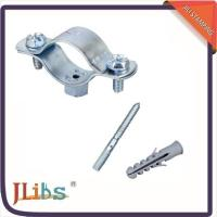 Wholesale Cast Iron Horizontal / Vertical Pipe Support Clamps For Ceilings Floor Mounting from china suppliers