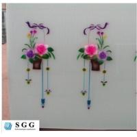 Quality Excellence quality TEMPERED LAINATED SILK SCREEN PAINTED GLASS for sale