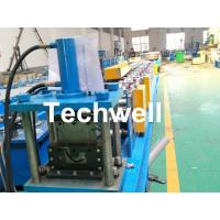 Quality Customized Half Round Gutter Roll Forming Machine For Making Rainwater Gutter & Box Gutter for sale