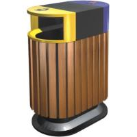 Wholesale Large Community Outdoor Site Amenities , Environment Friendly Outdoor Trash Can from china suppliers