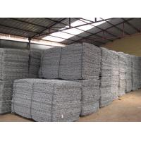 Wholesale Gabion Mesh Cages , Welded Gabion Baskets Easy Assemble Galvanized River protection from china suppliers