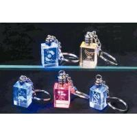 China Crystal Keychain with LED Light on sale