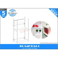 Wholesale 4 Post Metal Storage Furniture Shelves / Warehouse Store Display Stands Customized from china suppliers