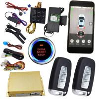 Wholesale Gps Auto Tracking Vehicle Security Car Alarm With Smartphone App Central Lock Or Unlock from china suppliers