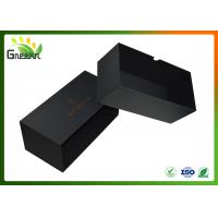 Wholesale Luxury Black Color Custom Gift Boxes , Sliding Drawer Packaging from china suppliers