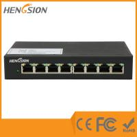 Wholesale 8 Megabit TX ports Enterprise Network Switch , business grade ethernet lan switch from china suppliers