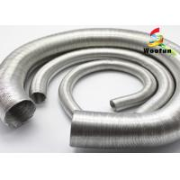 Wholesale Aluminum Foil Auto Air Duct Hose Lightweight Paper Craft Protective Round Bellows from china suppliers