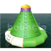 Wholesale Durable PVC Tarpaulin Inflatable Water Sports / Inflatable Water Tower For Climbing from china suppliers