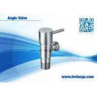 Wholesale Sanitary Ware Bathroom Accessories Toilet Brass Angle Valve With Round Quick Opening Handle from china suppliers