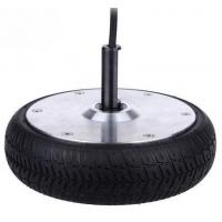Wholesale 36v 6.5 Inch Electric Scooter Brushless Motor 350w With Alloy / Natural Rubber Material from china suppliers