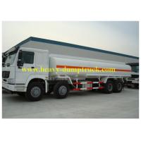 Wholesale SINOTRUK HOWO Brand 25 28 30cbm oil tank truck / 8x4 fuel tanker truck from china suppliers